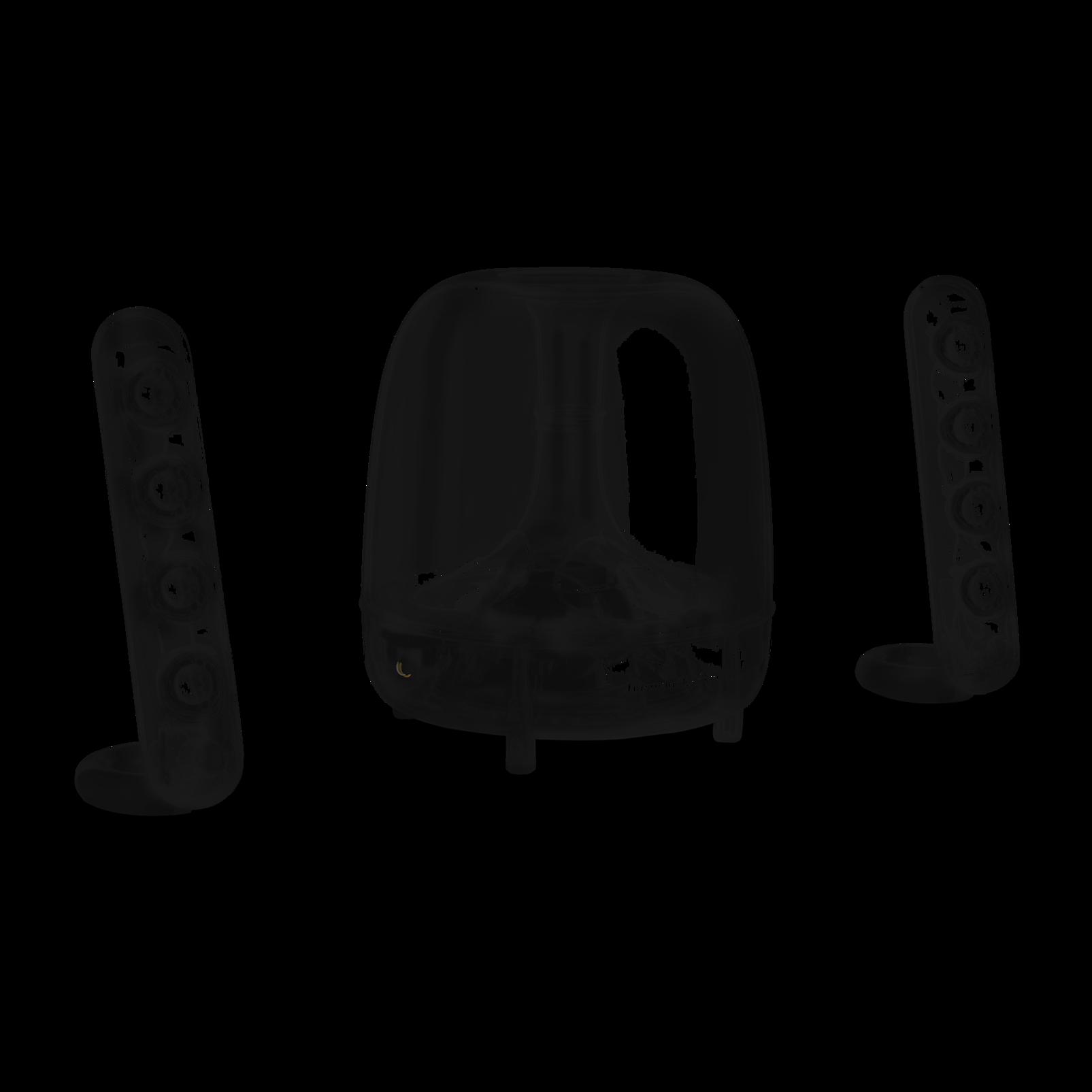 SoundSticks Wireless - Clear - Three-piece wireless speaker system with Bluetooth - Detailshot 1